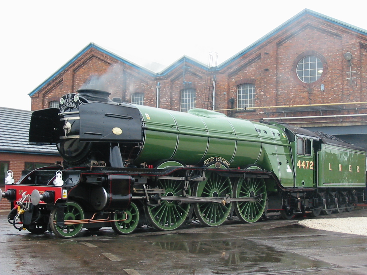 The Flying Scotsman in Doncaster