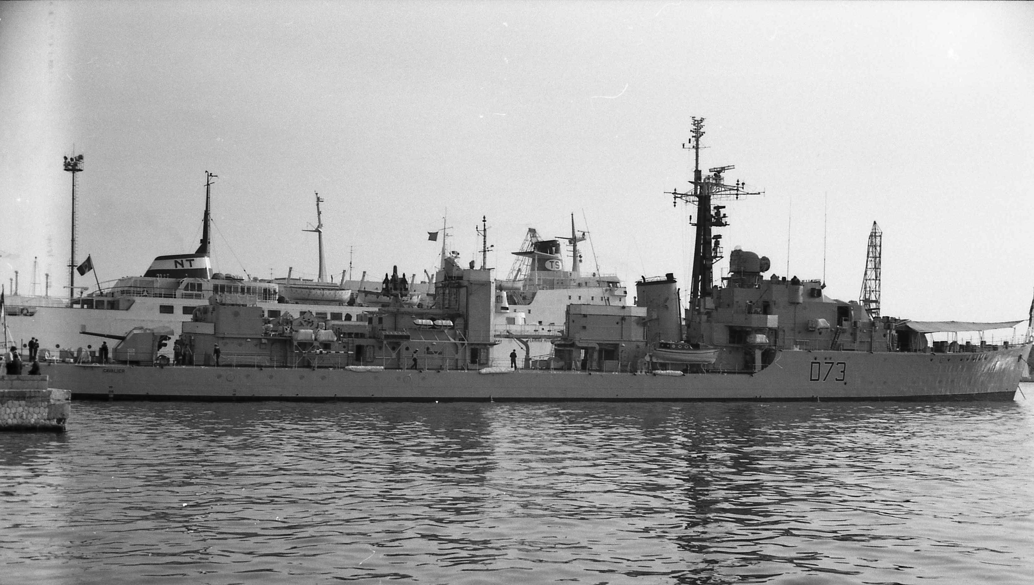 HMS Cavalier during the Second World War