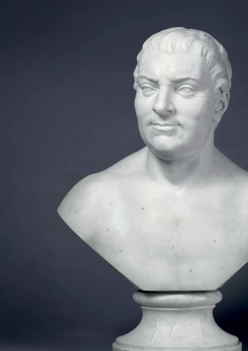 The bust of Thomas Hollis
