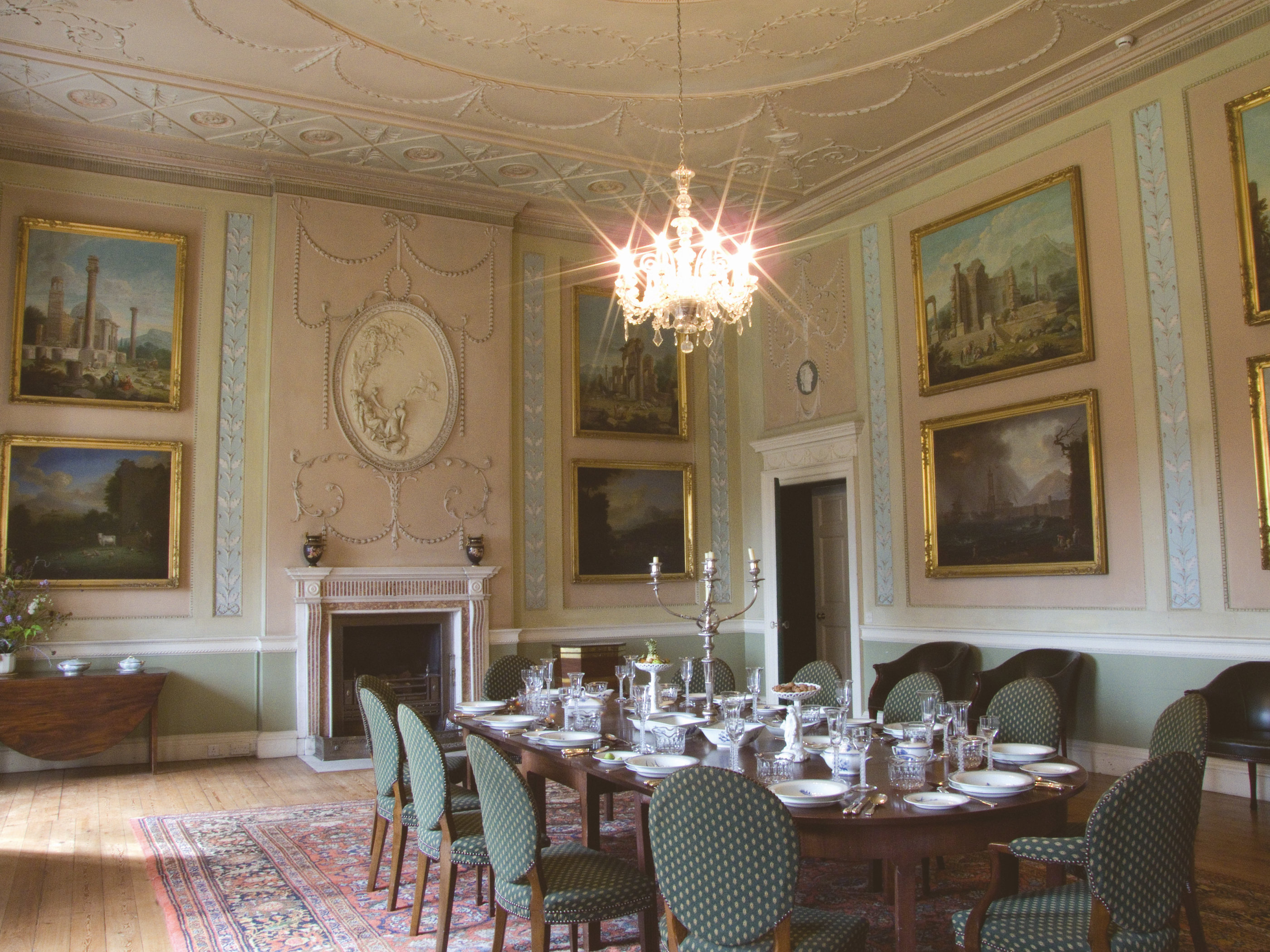 Dining Room of Paxton House